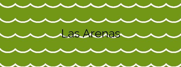 Información de la Playa Las Arenas en Getxo