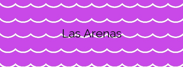 Información de la Playa Las Arenas en Manilva