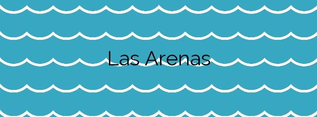 Información de la Playa Las Arenas en Val de San Vicente