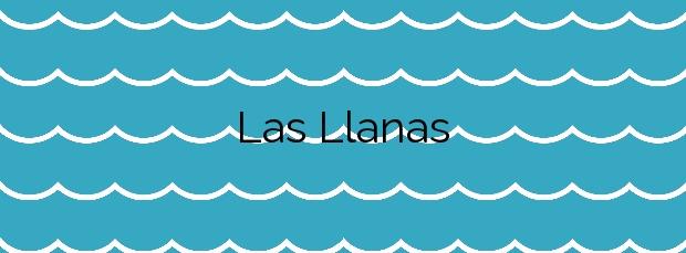 Información de la Playa Las Llanas en Muros de Nalón