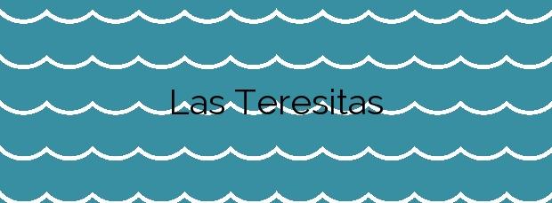 Información de la Playa Las Teresitas en Santa Cruz de Tenerife