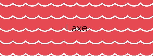 Información de la Playa Laxe en Laxe