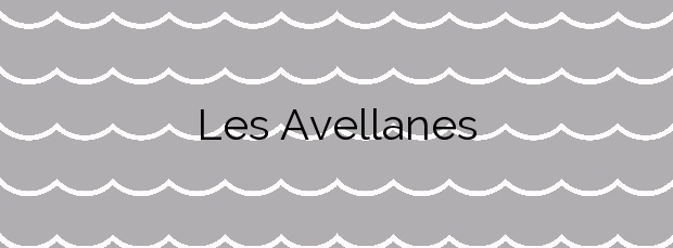 Información de la Playa Les Avellanes en L'Ampolla
