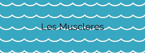 Información de la Playa Les Muscleres en L'Escala