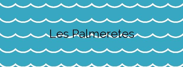 Información de la Playa Les Palmeretes en Sueca