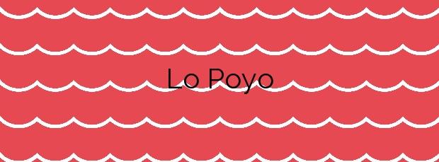 Información de la Playa Lo Poyo en Cartagena