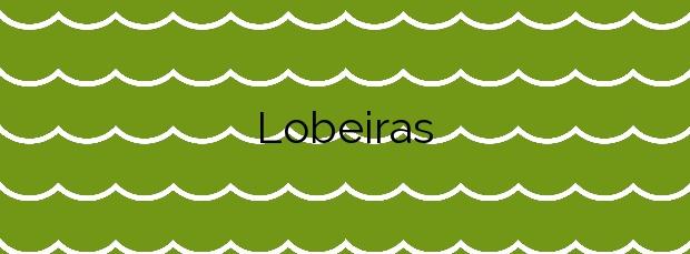 Información de la Playa Lobeiras en Camariñas