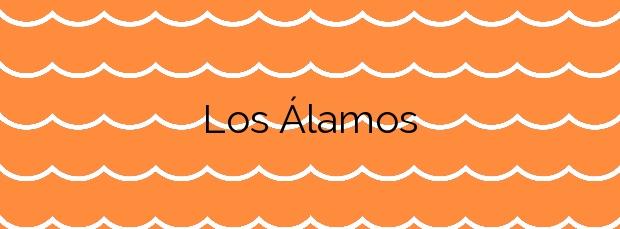 Información de la Playa Los Álamos en Torremolinos