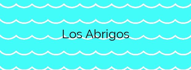 Información de la Playa Los Abrigos en Arico