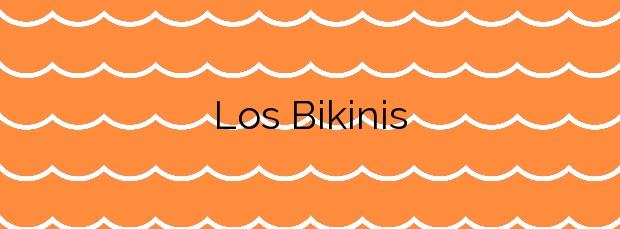 Información de la Playa Los Bikinis en Santander