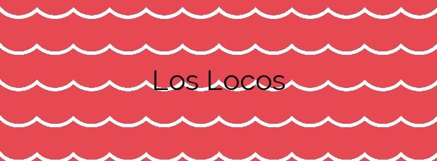 Información de la Playa Los Locos en Suances