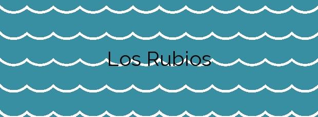 Información de la Playa Los Rubios en Rincón de la Victoria