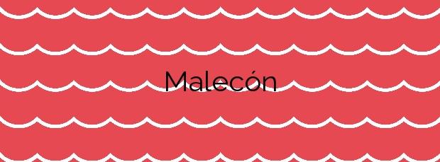 Información de la Playa Malecón en Vilaboa