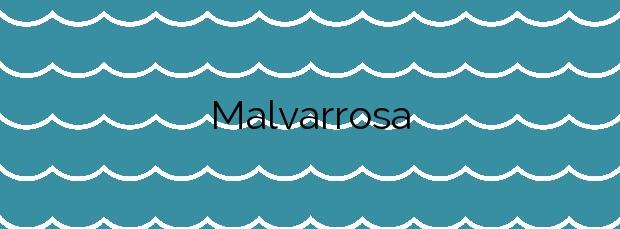 Información de la Playa Malvarrosa en Sagunto