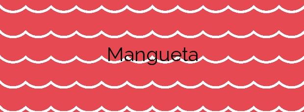 Información de la Playa Mangueta en Vejer de la Frontera