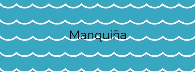 Información de la Playa Manquiña en Vigo