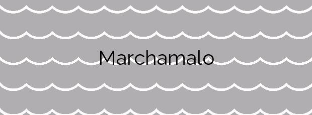 Información de la Playa Marchamalo en Cartagena