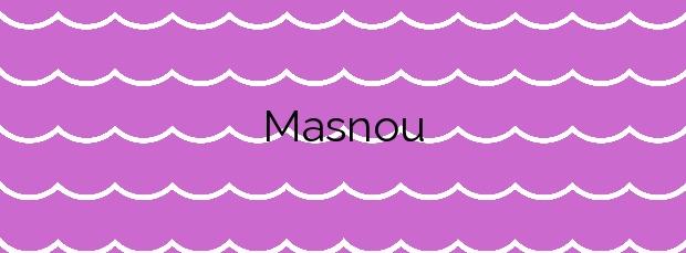 Información de la Playa Masnou en El Masnou