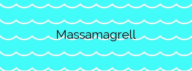 Información de la Playa Massamagrell en Massamagrell