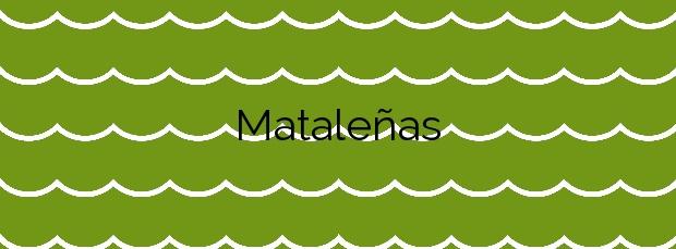 Información de la Playa Mataleñas en Santander