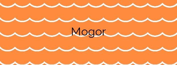 Información de la Playa Mogor en Marín