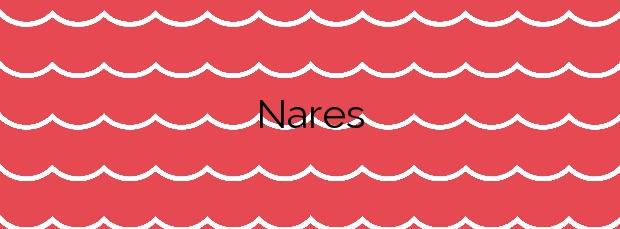 Información de la Playa Nares en Mazarrón