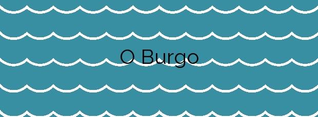 Información de la Playa O Burgo en Baiona