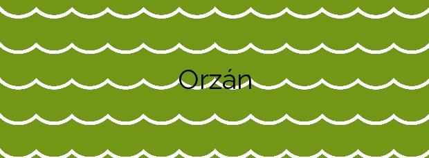 Información de la Playa Orzán en A Coruña