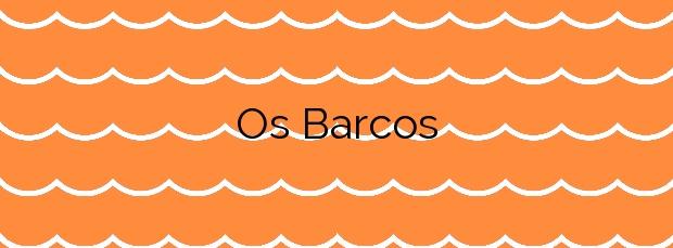 Información de la Playa Os Barcos en Sanxenxo