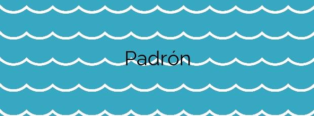 Información de la Playa Padrón en Poio
