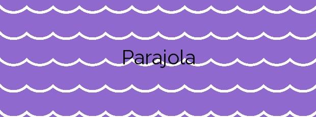 Información de la Playa Parajola en Cartagena