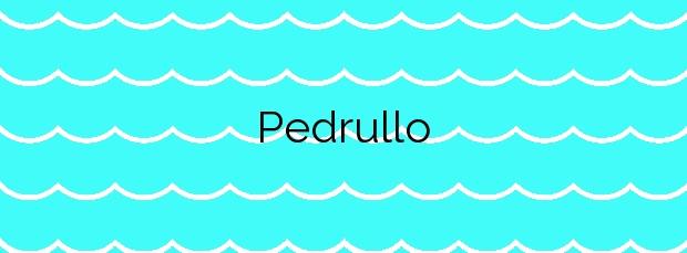 Información de la Playa Pedrullo en Carnota