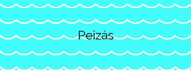 Información de la Playa Peizás en Foz