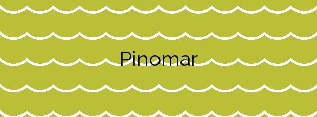 Información de la Playa Pinomar en Marbella