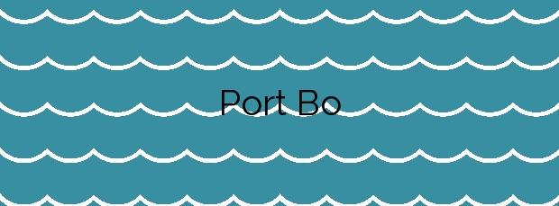 Información de la Playa Port Bo en Palafrugell