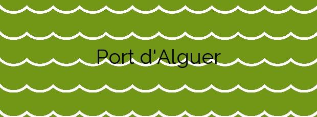 Información de la Playa Port d'Alguer en Cadaqués