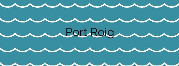 Información de la Playa Port Roig en Son Servera