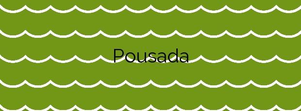 Información de la Playa Pousada en Vilaboa