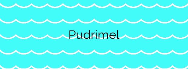 Información de la Playa Pudrimel en San Javier