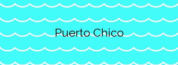 Información de la Playa Puerto Chico en Cudillero
