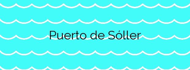 Información de la Playa Puerto de Sóller en Sóller