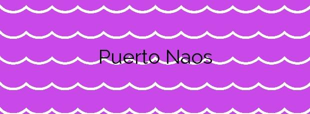 Información de la Playa Puerto Naos en El Pinar de El Hierro