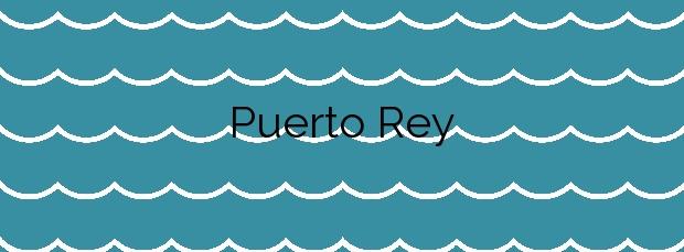 Información de la Playa Puerto Rey en Vera