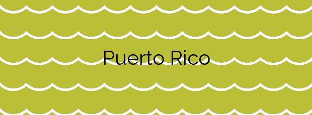 Información de la Playa Puerto Rico en Mogán