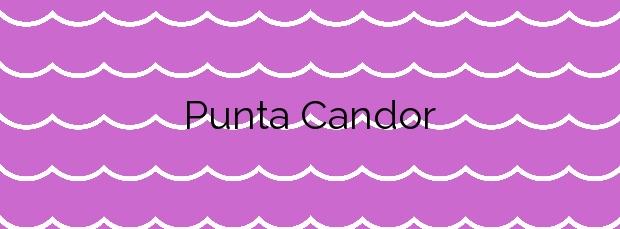 Información de la Playa Punta Candor en Rota
