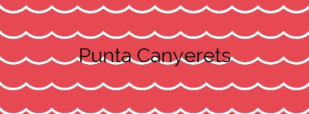 Información de la Playa Punta Canyerets en Santa Cristina d'Aro