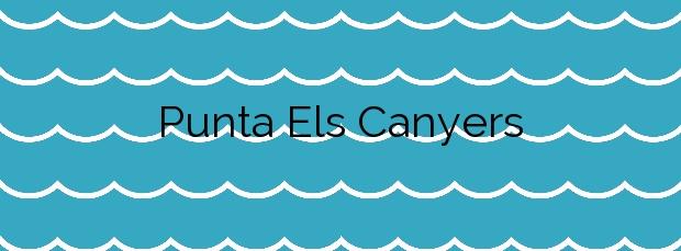 Información de la Playa Punta Els Canyers en Castell-Platja d'Aro