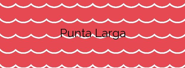 Información de la Playa Punta Larga en Candelaria