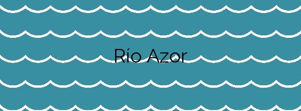 Información de la Playa Río Azor en Ribeira