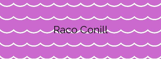 Información de la Playa Raco Conill en Villajoyosa